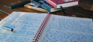 WritingPadAndBooks