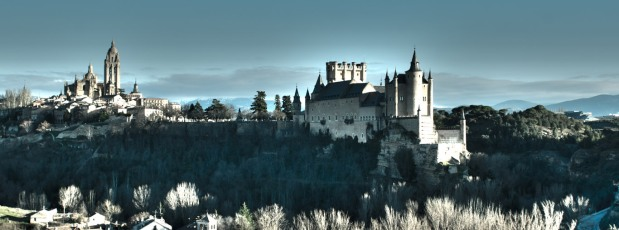 The old city of Segovia